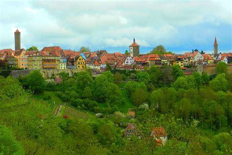 rothenburg ob der tauber  incredibly long journey