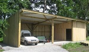 Construire Un Garage En Bois Soi Meme : comment faire son garage capturnight ~ Dallasstarsshop.com Idées de Décoration