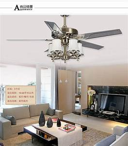 Inch leaves large wind powered fan light living room