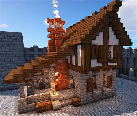 medieval blacksmith minecraft house plans minecraft mansion minecraft cottage