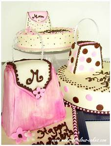 Mother's Day Cake - Purses for Mom