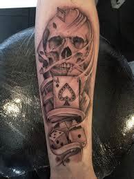 lifes  gamble poker tattoo tattoomagz tattoo