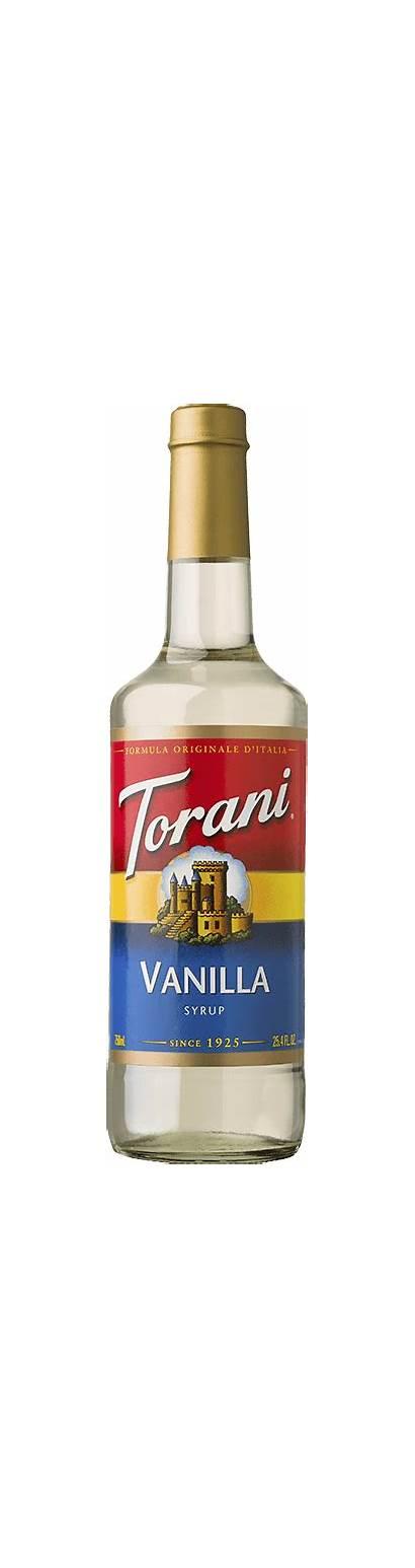 Torani Syrup Vanilla Coffee Flavoring Syrups 750ml
