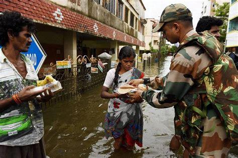 severe flooding chennai slowly