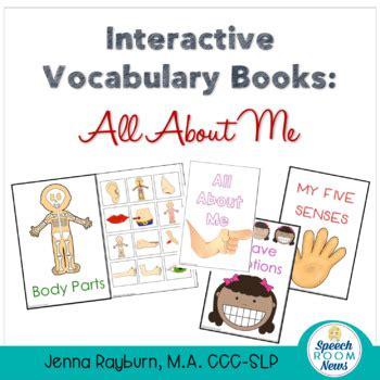 interactive vocabulary books all about me themed for 204 | original 1438514 1
