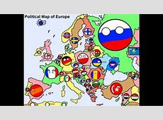 Alternative future of europe in countryball YouTube