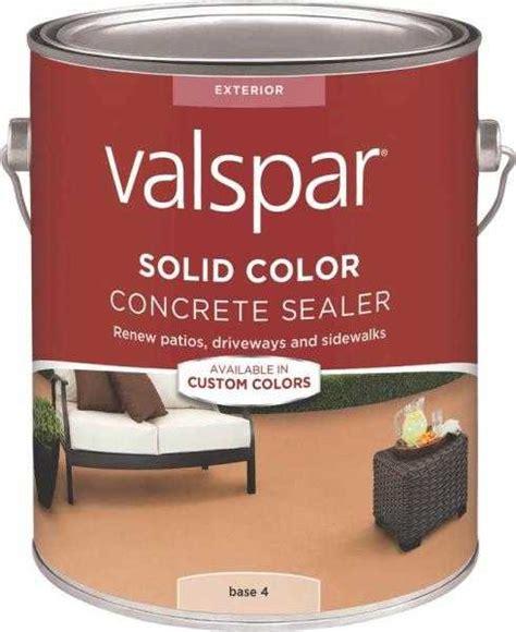 valspar 82024 solid color concrete sealer base 4 one