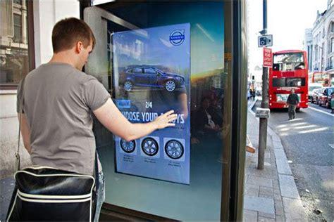 interactive  door campaign digitalsignage future