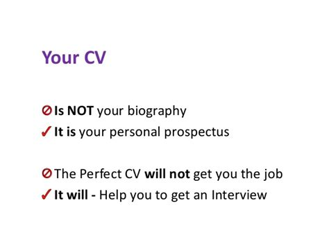 Cv Advice by Cv Advice For Postgraduates And Postdoctoral Researchers