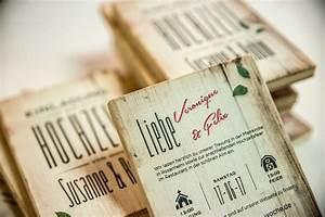 Ausgleichsmasse Auf Holz : druck auf holz doppelseitig bedruckte einladungskarten aus ~ Michelbontemps.com Haus und Dekorationen