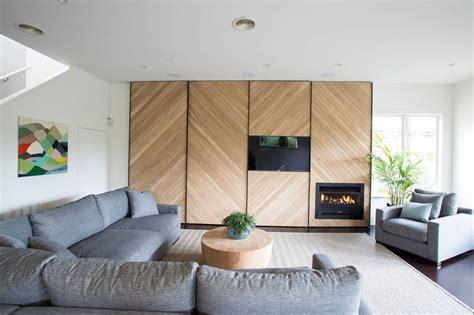feature wall design idea  chevron accent wall