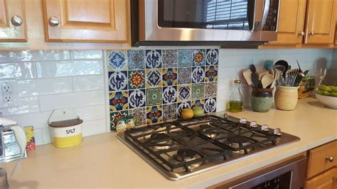 mexican tile kitchen backsplash mexican tile backsplash tile design ideas 7485