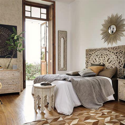 chambre style ethnique maison du monde chambre a coucher