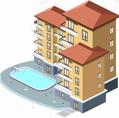 Apartment Transparent Clipart Condo Appartment Complex Pngmart