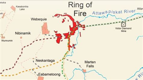 ontario works   nations  ring  fire access