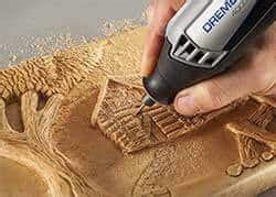 dremel tool  carve wood  complete