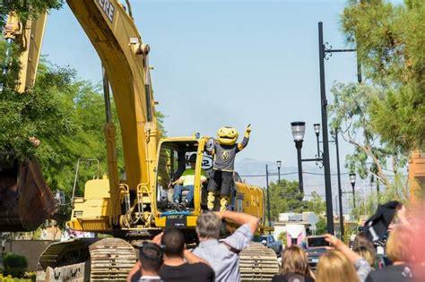 demolition begins golden knights arena henderson las vegas sun