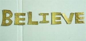 Cardboard glitter letters a letter creation by kriti for Glitter cardboard letters