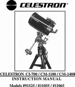 Celestron 11055 Users Manual