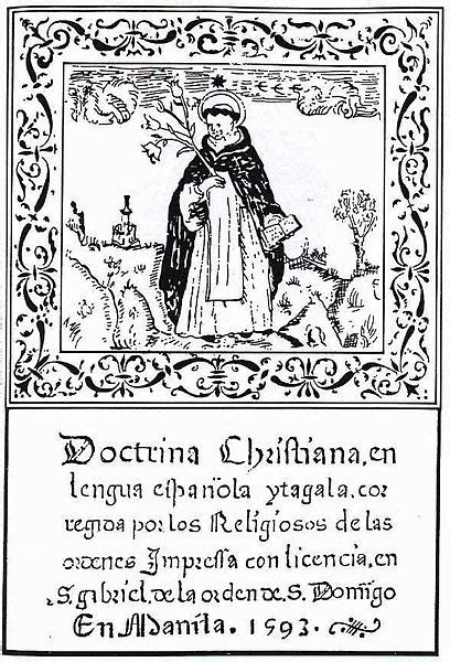 doctrina cristiana  book published
