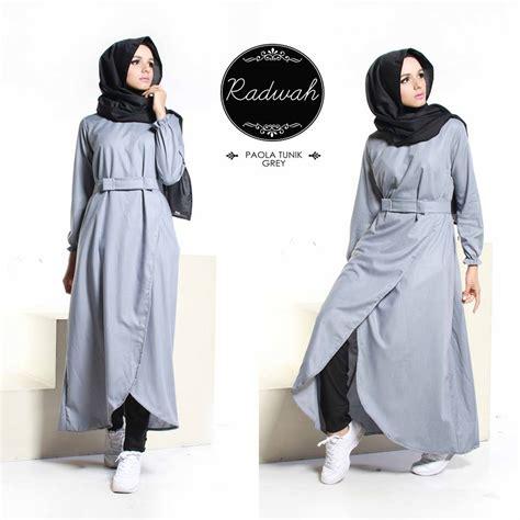 busana muslim modern wanita baju tunik wanita 081252330771 dewihijab