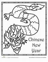 Chinese Coloring Dragon Worksheets Coloriage Activities Preschoolers Printable Chinois Preschool Printables Worksheet Children Mask Education sketch template