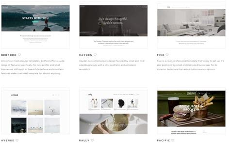 squarespace template comparison squarespace vs to comparison
