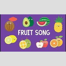 Fruit Song (fun & Educational Learning Flash Card Video) Youtube