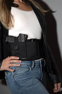 Concealed Carry Gun Holster Ultimate Comfort Bellyband For