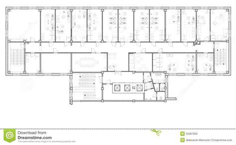 bureau stock plan de cagne plan bureau plan bureau construction bureaux plans prix