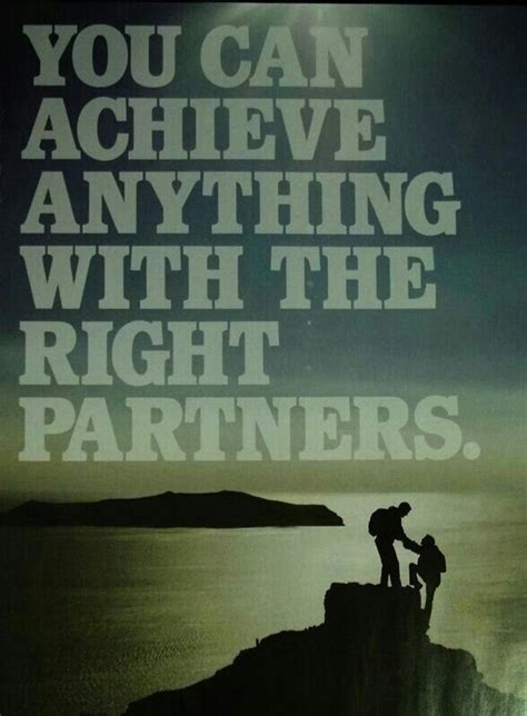 partners motivational quotes quotesgram