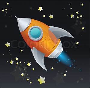 Flying Spaces Preise : comic cartoon rakete raumschiff stock vektor colourbox ~ Markanthonyermac.com Haus und Dekorationen