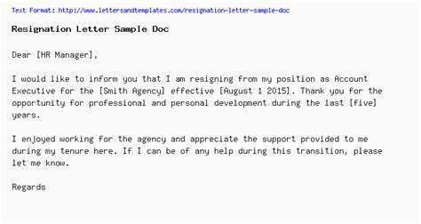 fresh resignation letter   letterbuiscom