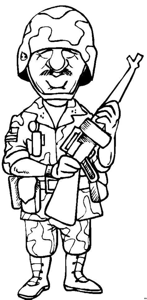 tarnfarben soldat ausmalbild malvorlage comics
