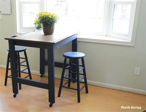 kitchen table makeover before and after diy eat in kitchen table makeover 3226