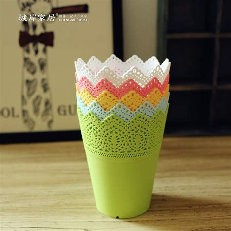 Online Buy Wholesale plastic vases from China plastic