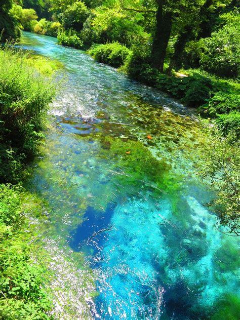 Syri i kaltër (Blue Eye) - Saranda, Albania   Albania ...