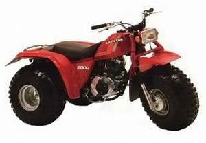 Honda Atc 200m Official Shop Manual 1984-1985
