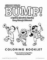 Bump Coloring Pump Booklet Short Illustration Dubar Scott April Children Posted Comments sketch template