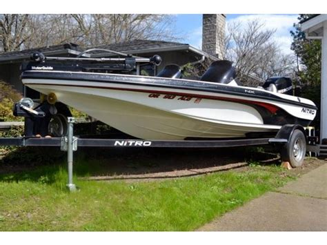 Nitro Boats State Team by 2006 Tracker Nitro 175 Powerboat For Sale In Oregon