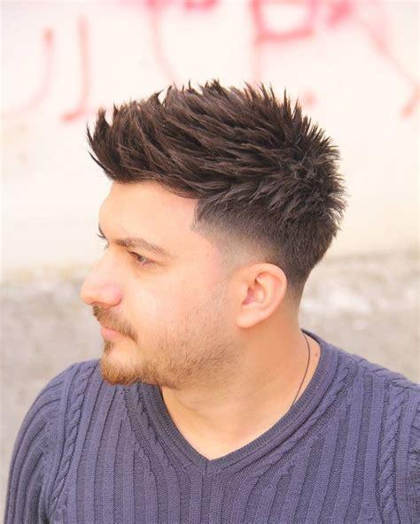 spiked  taper fade turkish man haircuts beards