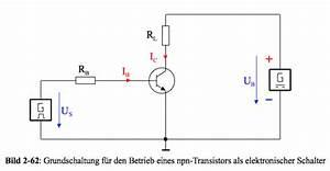 Transistor Als Schalter Berechnen : elektronik kurs transistor als schalter ~ Themetempest.com Abrechnung