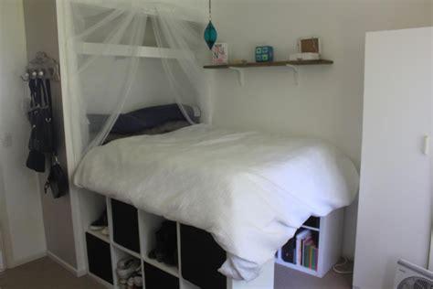cuisine gap raised bed inside built in wardrobe ikea hackers