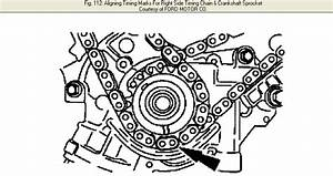 I Need The Timing Chain Marks And Diagram For A Ford