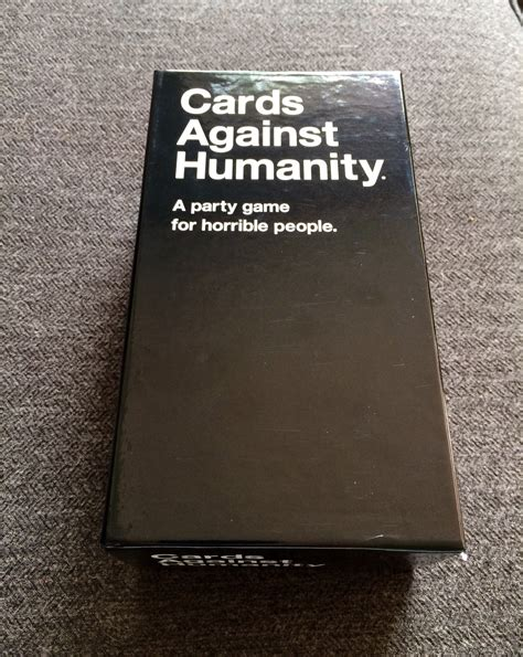For humanism, democracy and freedom. Cards Against Humanity: The Clean Version - CT Now