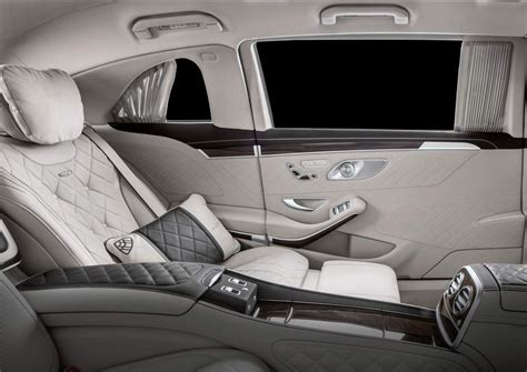 The windows are opened through a hydraulic system. 2019 Mercedes-Maybach S650 Pullman breaks cover with new ...