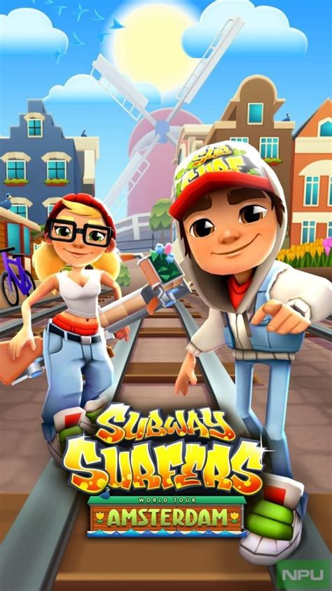 subway surfers windows 10 goes to amsterdam with the