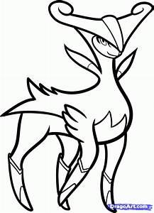 Step 6. How to Draw Virizion, Pokemon