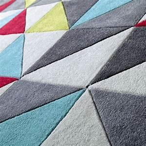 Tapis Scandinave Maison Du Monde : tapis poils courts 140 x 200 cm colors maisons du monde ~ Nature-et-papiers.com Idées de Décoration