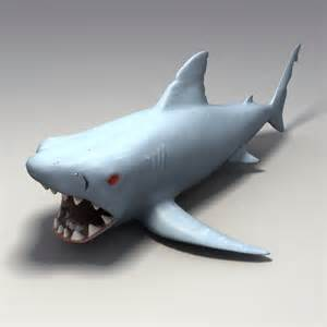 Rubber Shark Toys